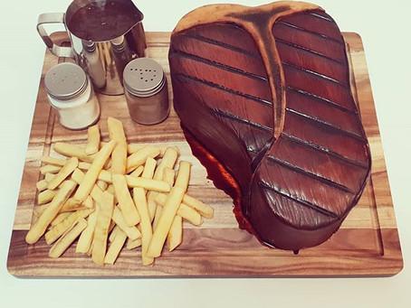 STEAK CAKE!
