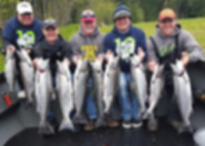 COWLITZ SPRINGERS WITH RYLEE APRIL 2016.