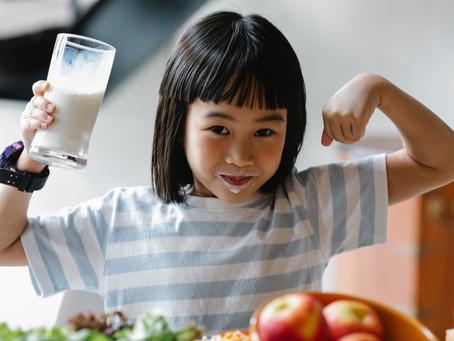 Alimentação para as crianças e adolescentes