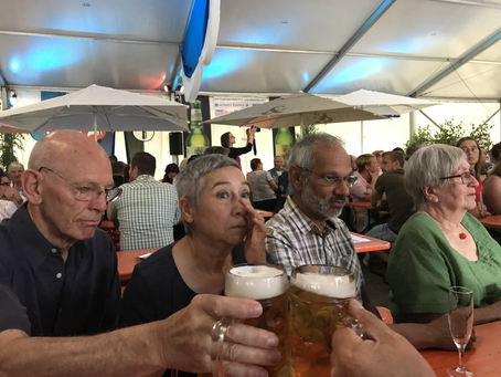 Besuch zu Pfingsten aus Dorking