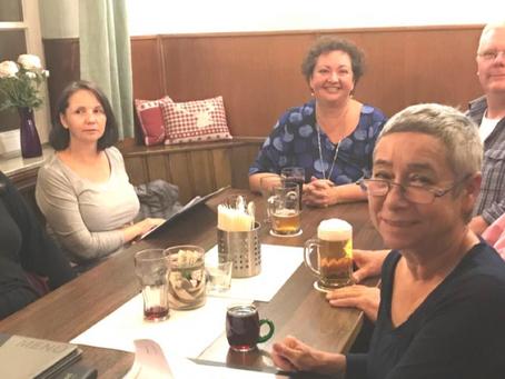 Güglinger Delegation zu Besuch in unserer englischen Partnerstadt Dorking