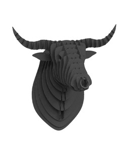 Cardboard Bull Black 4