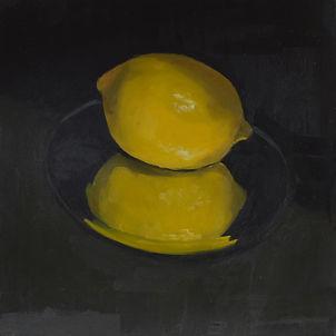 Still life with lemon