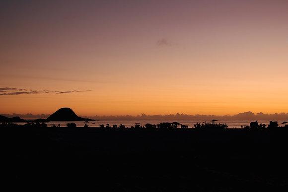 Fim de Dia na Praia