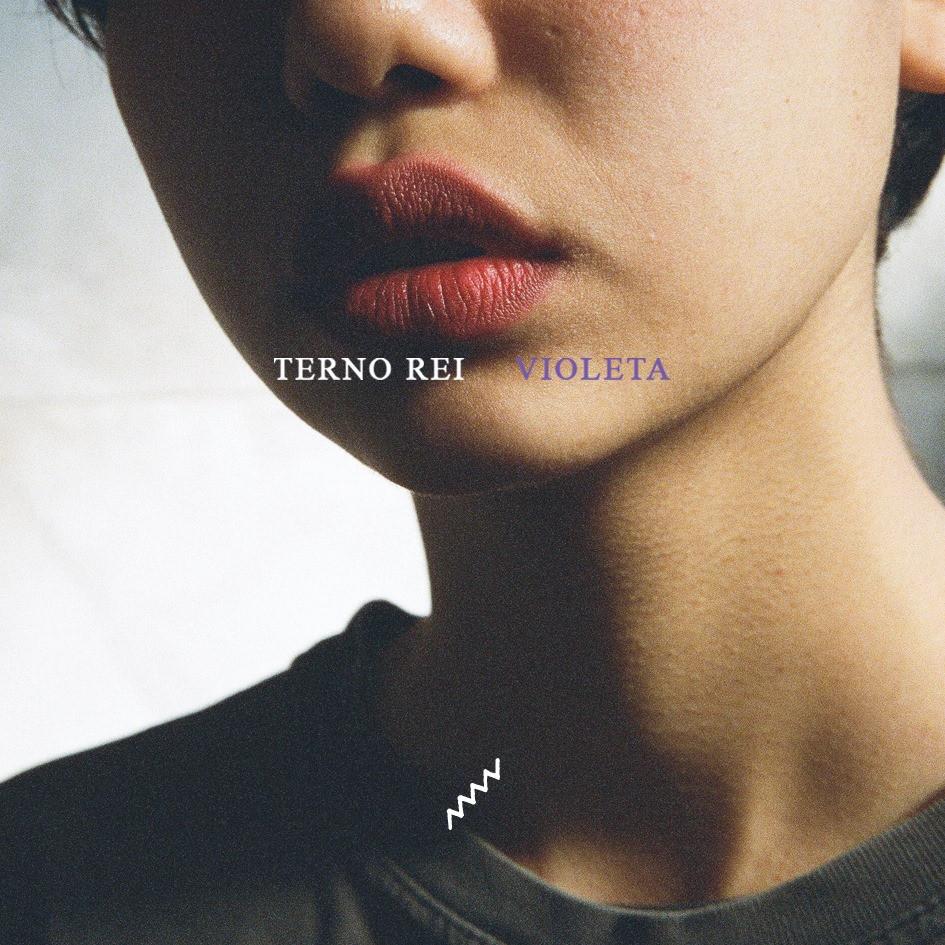 Capa de álbum de Terno Rei - Violeta (rock, indie, nacional)