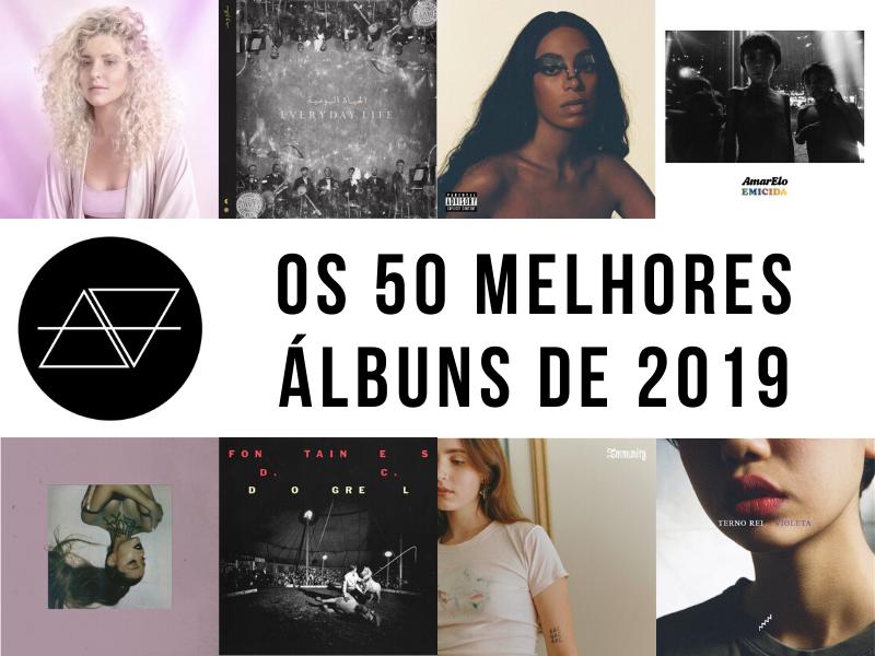 os 50 melhores álbuns de 2019