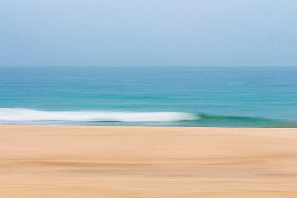 Fotografia de praia no Litoral Norte de São Paulo