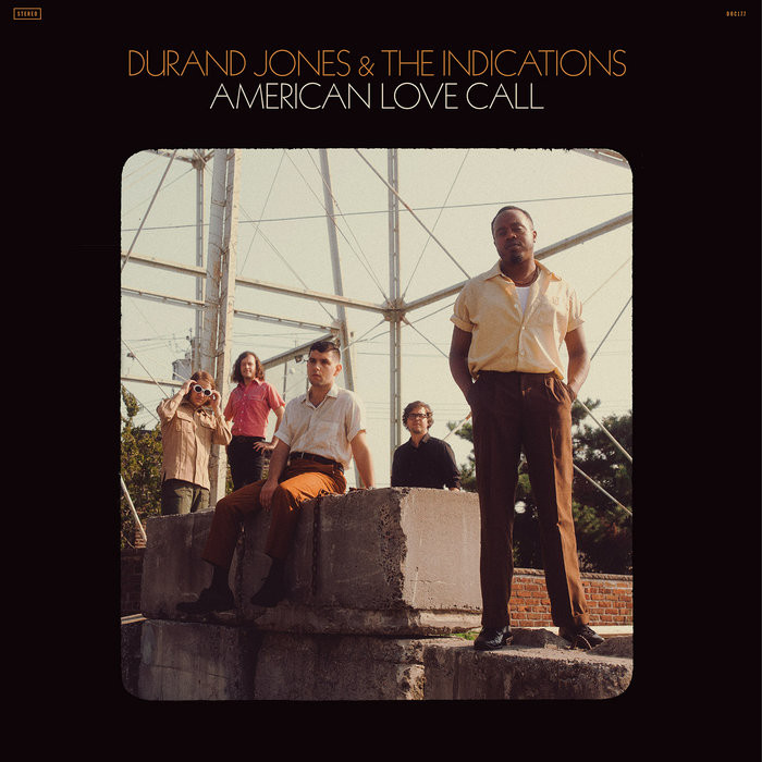 Capa de álbum soul de Dunrand Jones & The Indications
