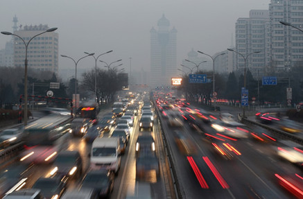 Is China becoming the new California? How nation's smog-choked cities are reshaping car design world