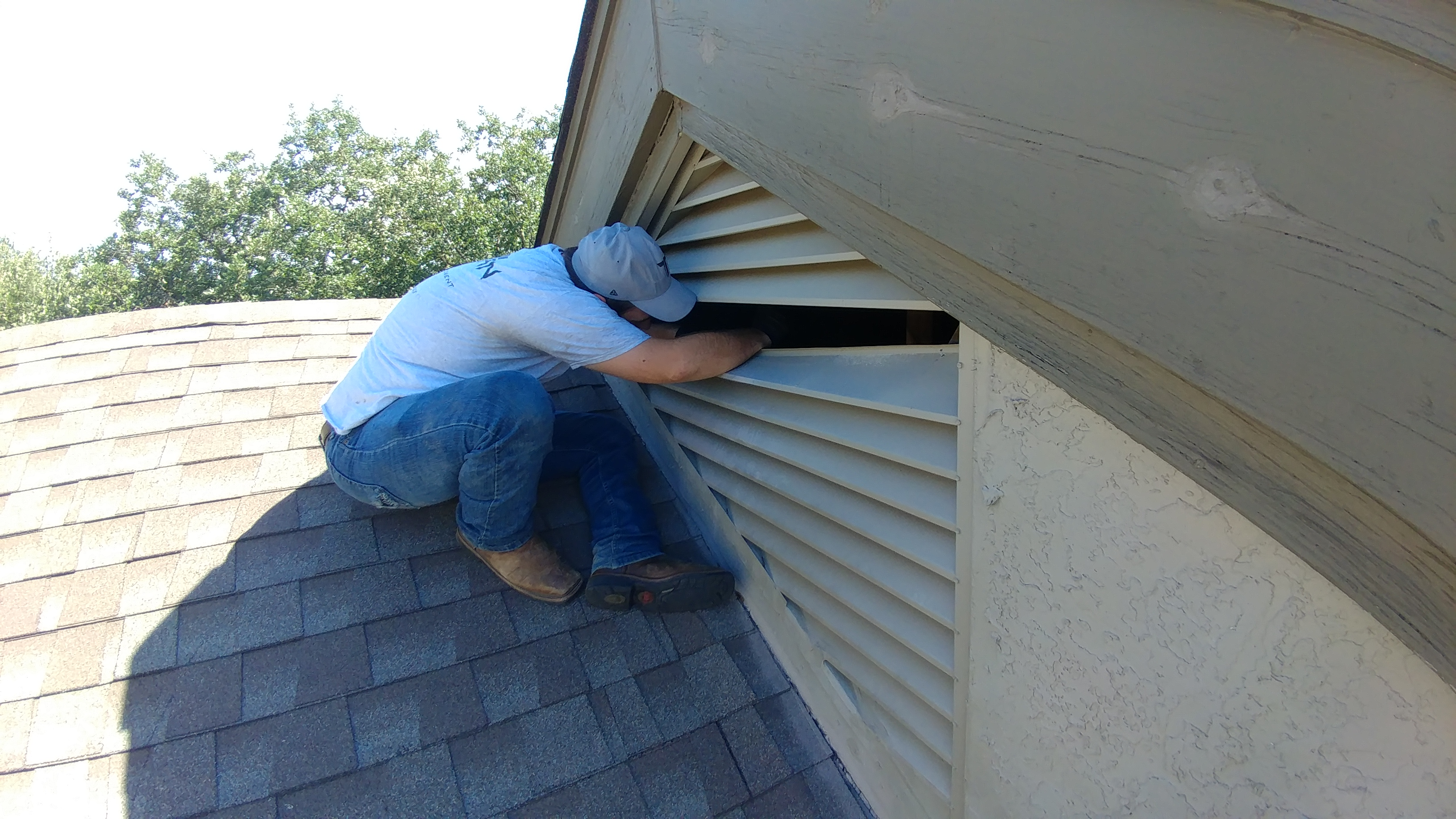 Gable Vent Entry