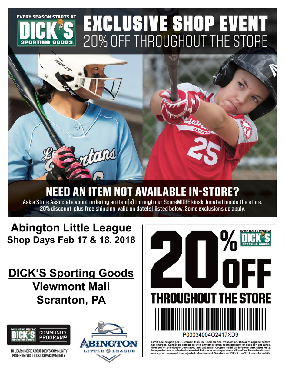Dick's Coupon