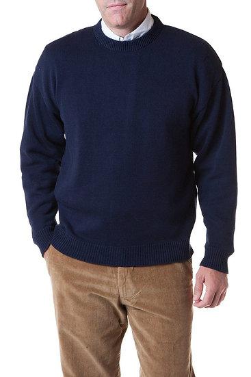 Yachtsman Crewneck Sweater in Navy