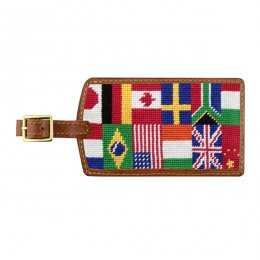 More Needlepoint Luggage Tags - Many Styles!