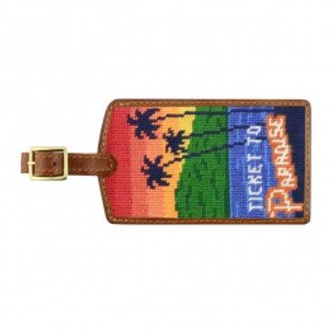 Needlepoint Luggage Tags - Many Styles!