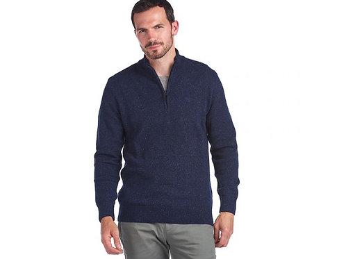 Tisbury Half Zip Sweater in Navy