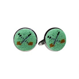 Hand Stitched Cufflinks - Many Styles!