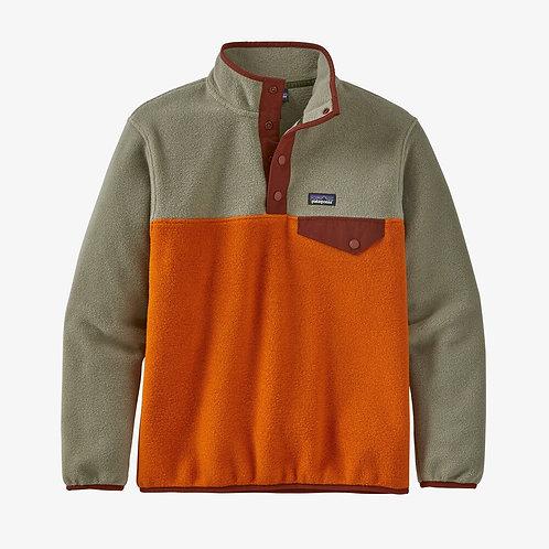 Lightweight Synchilla Snap Pullover in Desert Orange