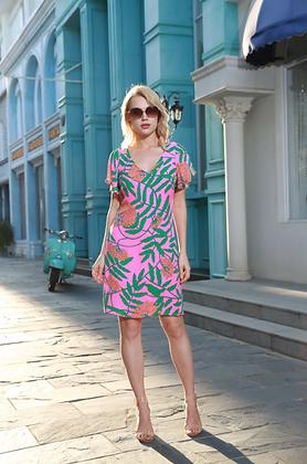 Ramona Silk Dress