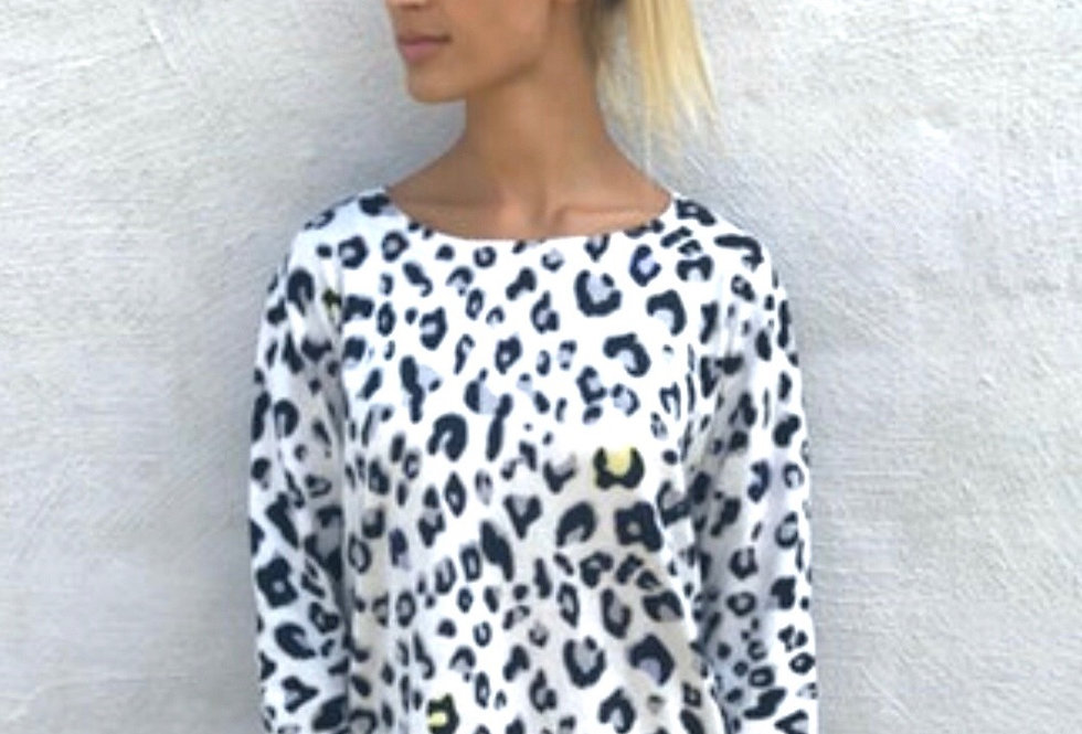 Lucy Leopard Popover