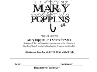 Mary Poppins Tee Shirts