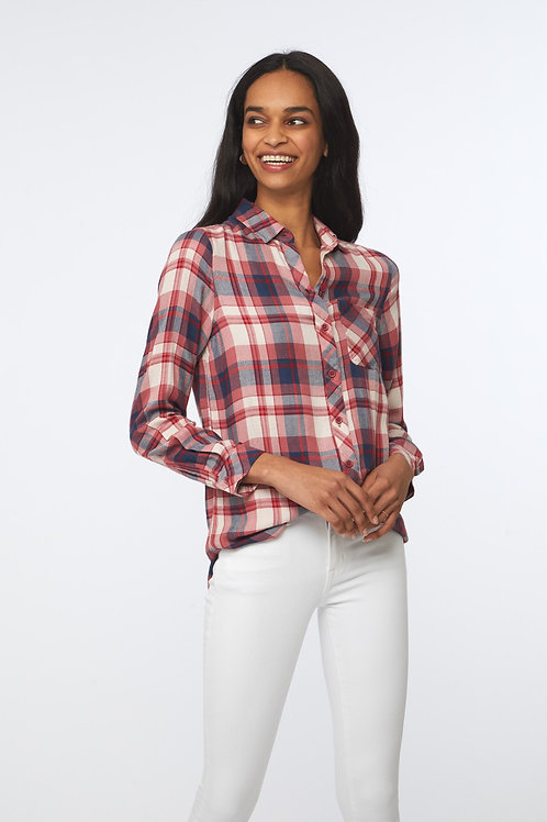 Charley Shirt - Rosy Apple