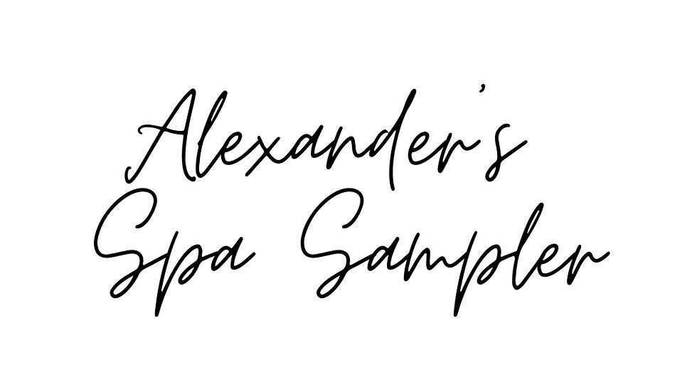 Alexander's Spa Sampler