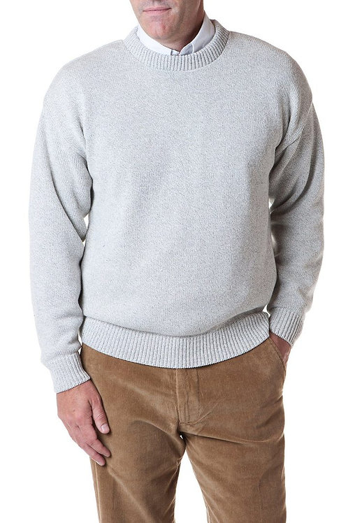 Yachtsman Crewneck Sweater in Grey