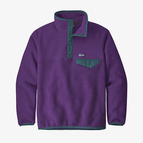Lightweight Synchilla Snap Pullover in Purple