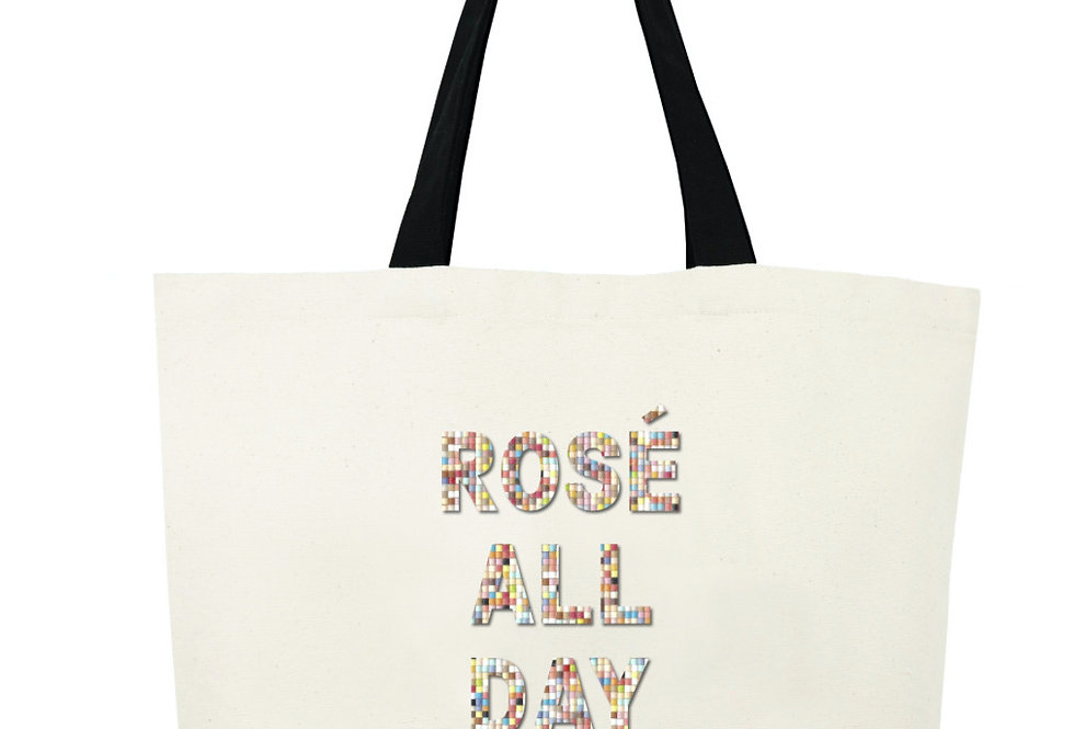 Rosé All Day Bead Tote