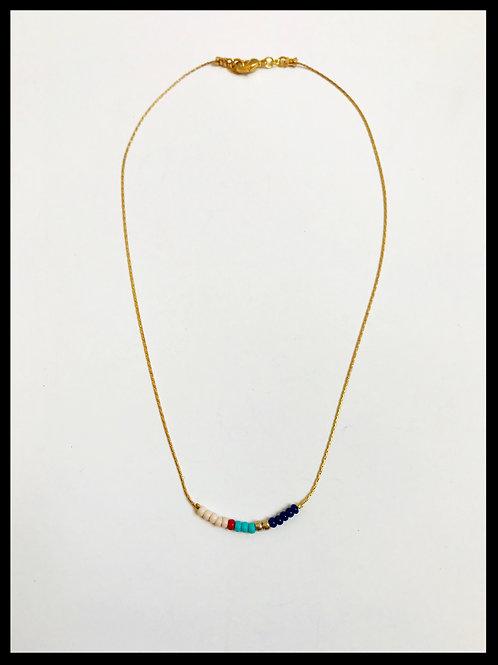 Minimalist Beaded Necklace 2