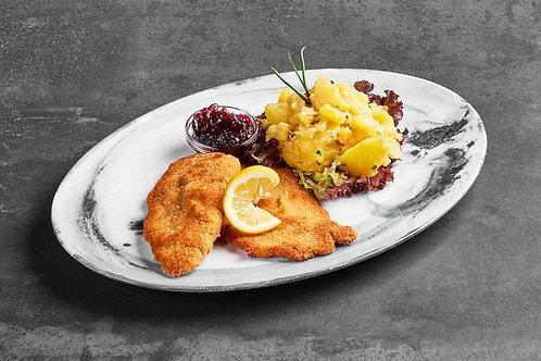 Duett vom Wiener Schnitzel & Cordon Bleu - ab 15 Portionen