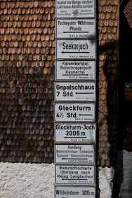 Hohenzollernhaus, Wanderwegbeschreibung
