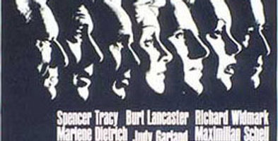 "Unframed ""Judgment at Nuremberg"" Movie Poster, 1961"