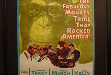 "Framed ""Inherit the Wind"" Movie Poster, 1960"