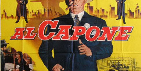 "Unframed ""Al Capone"" Movie Poster, 1959"