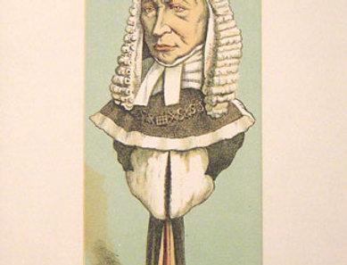 Sir Alexander Cockburn – Lord Chief Justice Print, 1870