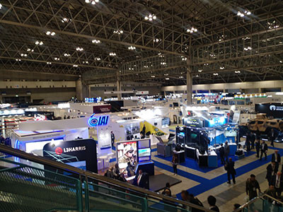 DSEI JAPAN2019会場全体