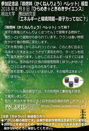 POLARIS_2018_核燃料ペレットレプリカ_JK.jpg