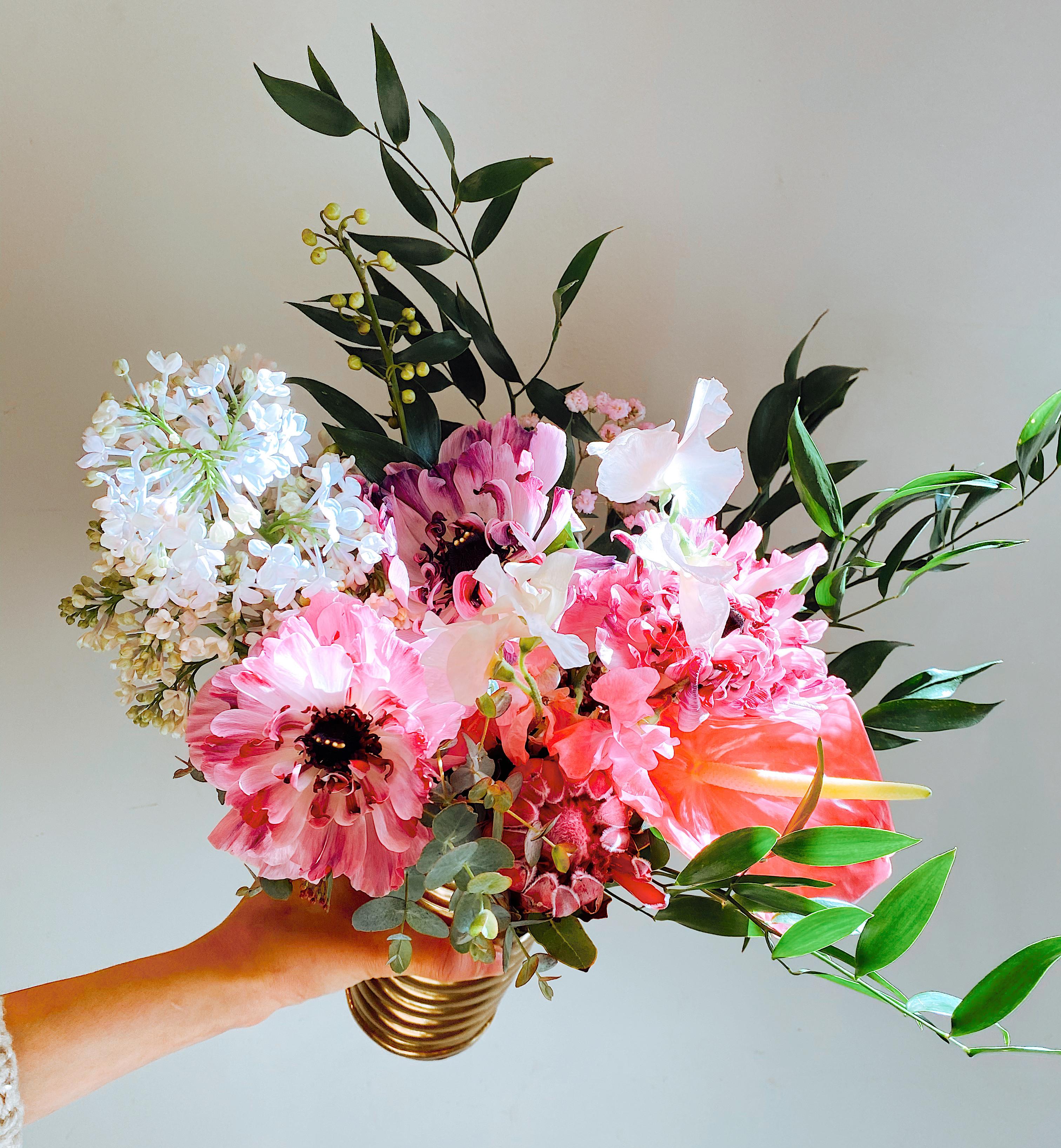 Mother's Day Virtual Flower Workshop