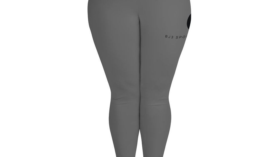 All-Over Print Plus Size Leggings