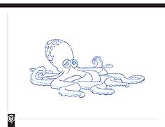 Muppet, octopus, sealife, muppetize