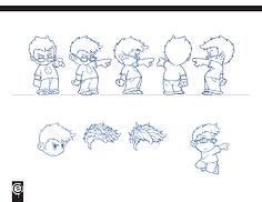 Character Design, Anime, Kawaii, cute