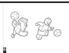 Lego, minifig, minifigure, character design, soccer, Lego