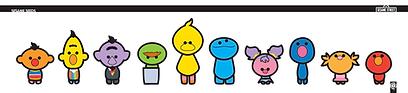 Sesame Seeds, character design, Sesame street, sesame styles