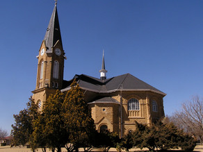 Sandstone Churches in the Eastern Free State