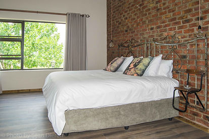 Maluti View Bedroom 1 with views out ove