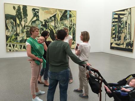 Impuls-Session in der Pinakothek der Moderne
