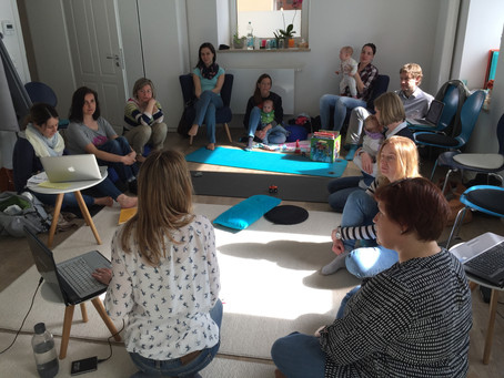 "Bude voll – Dominika's Impuls-Session ""Bloggen als Mama"""