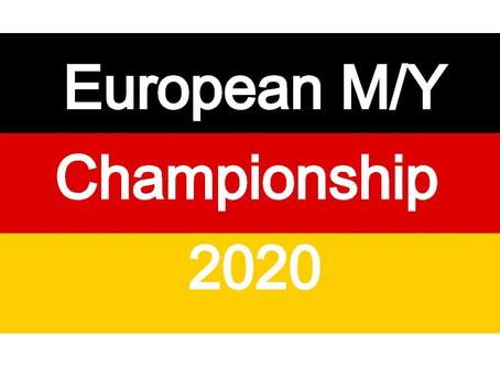 Campionato Europeo Master e Juniores al momento confermati