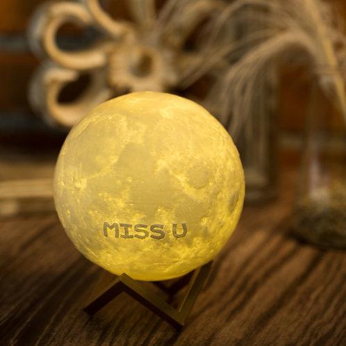 現貨 [MISS U] 月球夜燈
